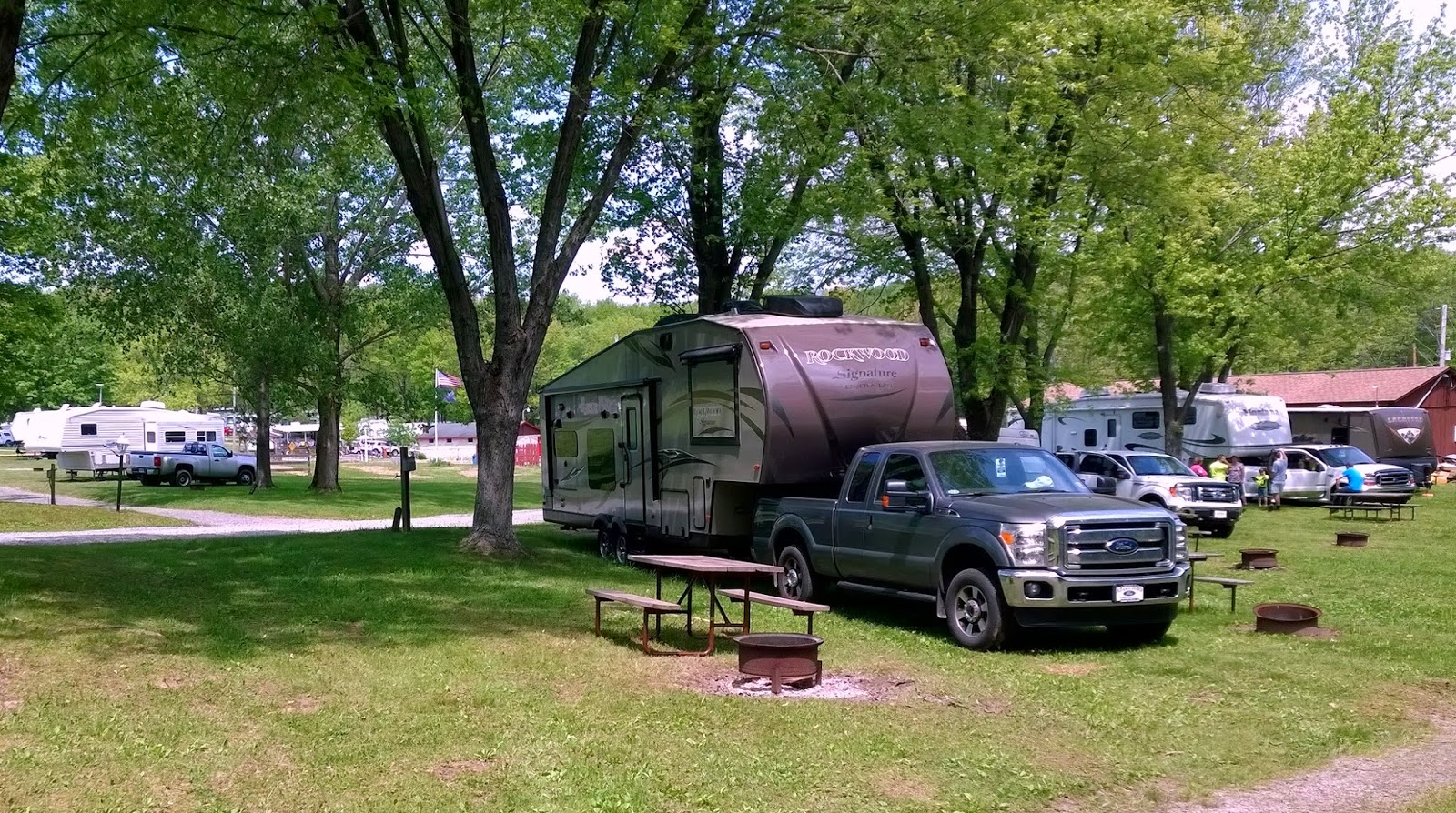 Charming Travel Day (Emlenton, PA To Erie, PA) And Bella. Location: Lampe Marina And  Campground ...