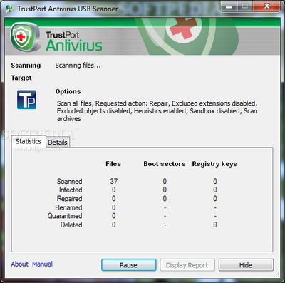 Download TrustPort Antivirus USB Edition 2011
