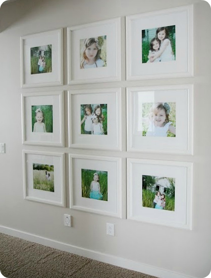 Photo Display Ideas + Tips and Tricks