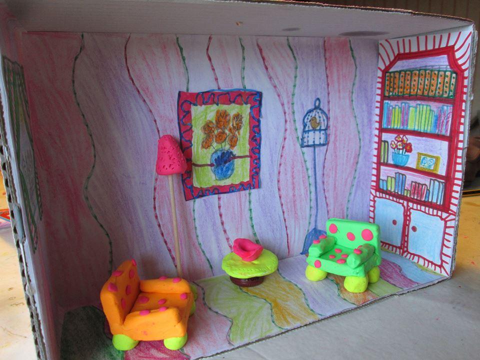 Casa de muñecas - Plastilina