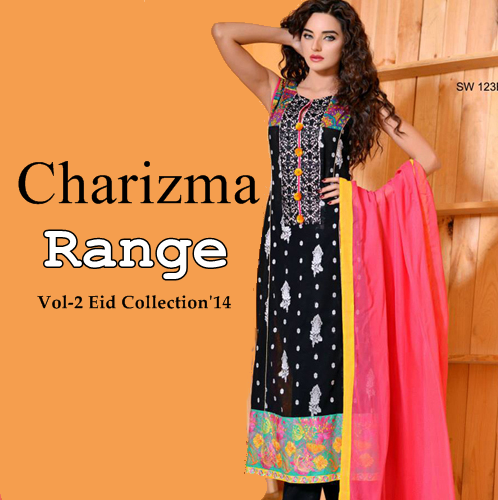 Charizma Range Eid Collection 2014