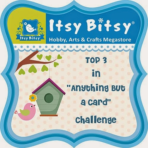 Itsy Bitsy Anything But A Card Challenge