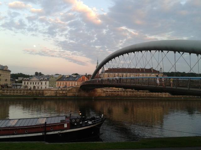 Río Vístula, Cracovia