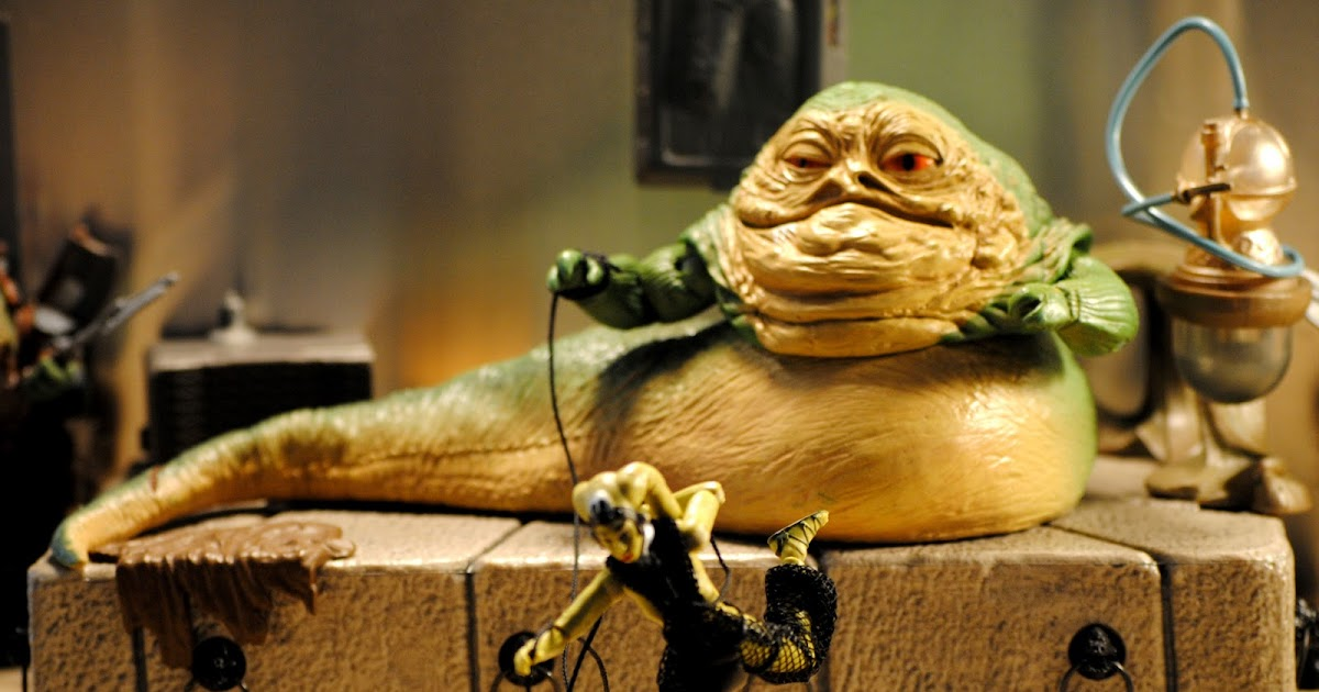 ACTION FIGURE EMPIRE: Jabba The Hutt and Oola: The Dance ... Jabba The Hutt Choked