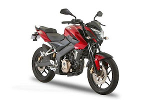 The 2012 Pulsar 200 NS premium sports motorcycle