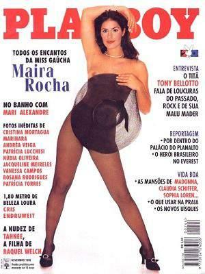 Maira Rocha - Playboy 1995
