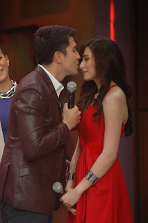 Jennylyn Mercado and Luis Manzano