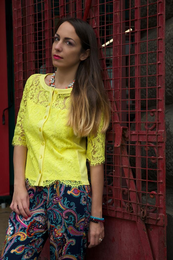come indossare il giallo