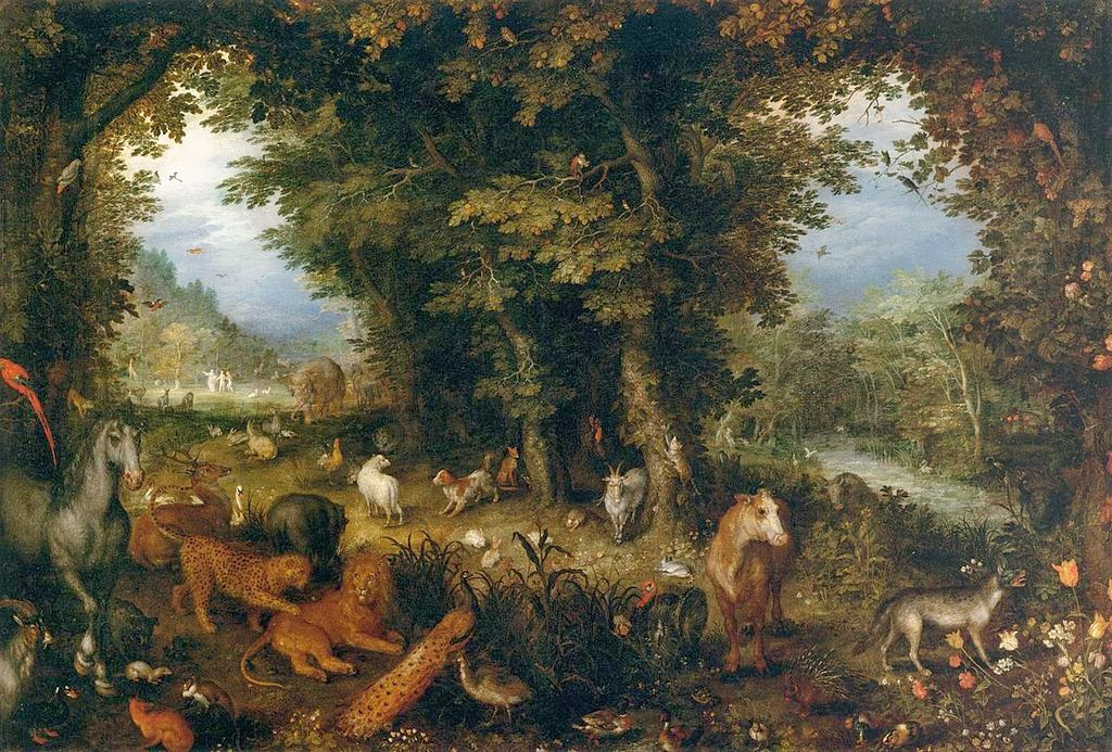 Paintings Of Spring The Garden Of Eden In Painting