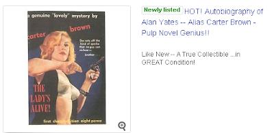 Carter Brown Ebay listing