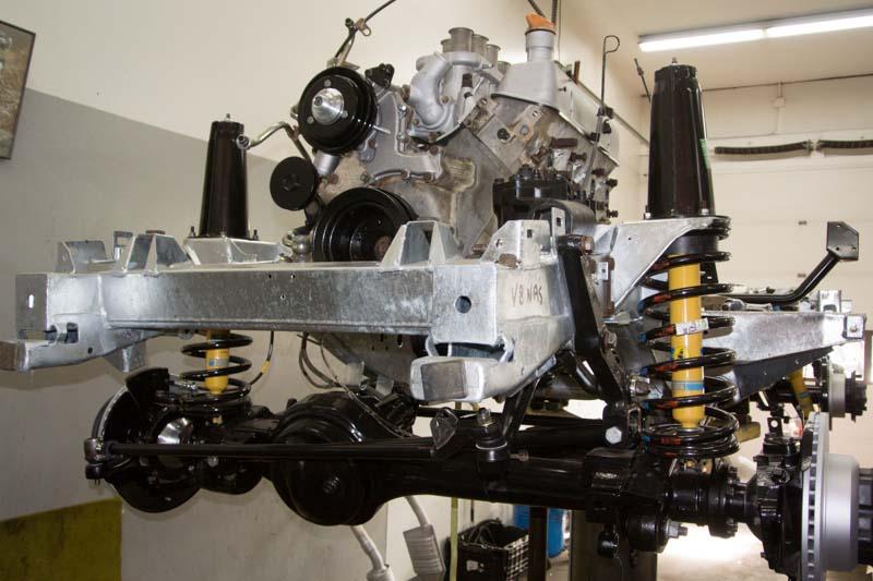Land Rover Defender Restoration At Robison Service