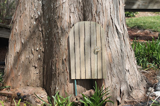 fairy door in tree