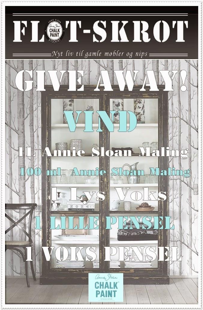 Vinn Annie Sloan Chalkpaint med utstyr