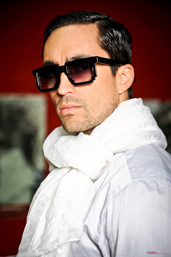 Dzmitry Samal's 2012 eyewear collection: Intersection. Photo: cessphoto.com