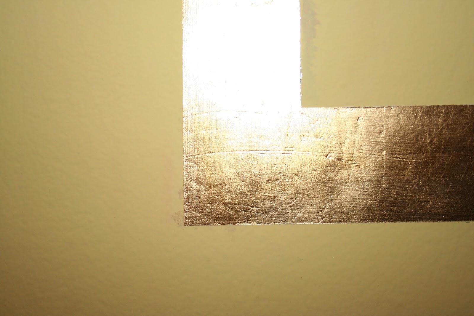 Caratteri mobili finta cornice in foglia oro - Cornice dei mobili ...