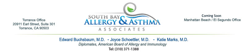 South Bay Allergy Blogger