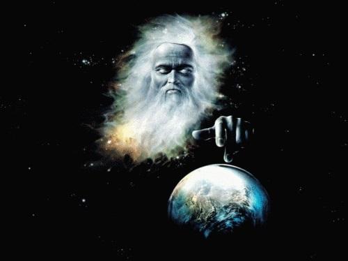 Бог создал землю