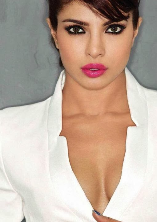 Priyanka Chopra cleavage in Maxim Magazine