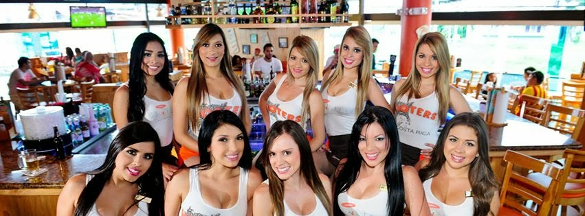 hooters girls caught nude