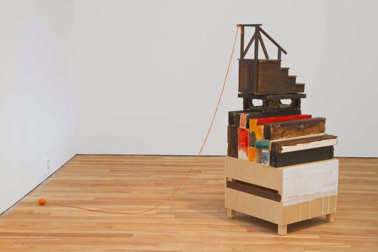 Kostis velonis staging the domestic for Salon de bricolage athens