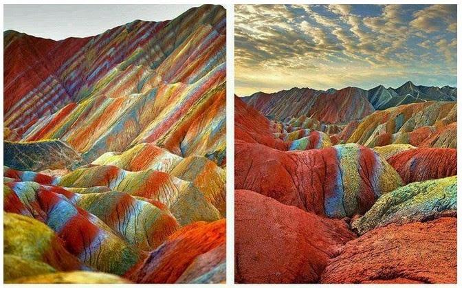 kebenaran Al Quran tentang rainbow mountain cina