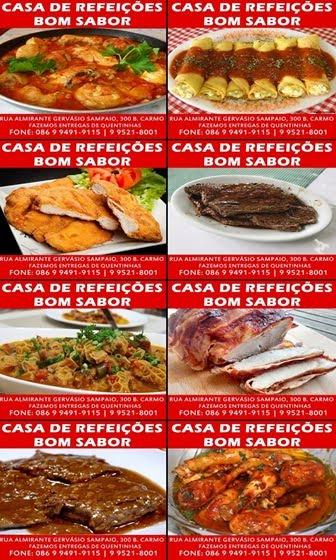 CASA DE REFEIÇÕES BOM SABOR!