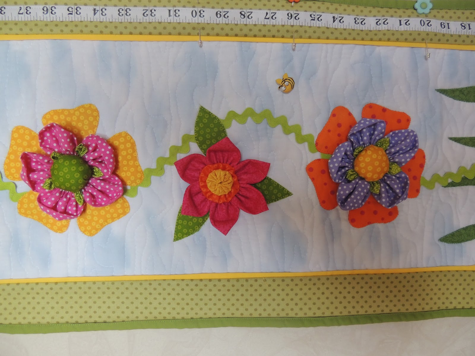 Quilting New Little Girls Growth Chart