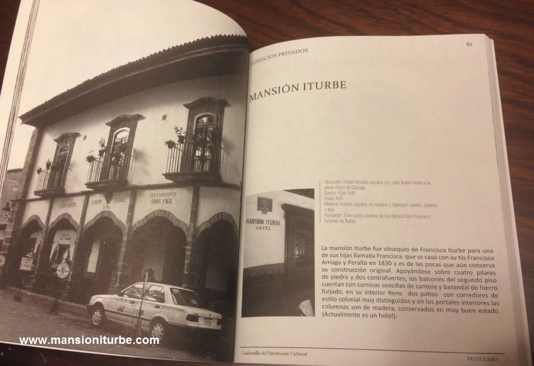 Cuadernillo sobre el Patrimonio Cultural de Pátzcuaro