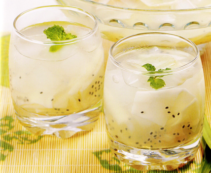 Resep minuman es markisa, cara membuat es markisa punch segar, menu es markisa punch, minuman buka puasa