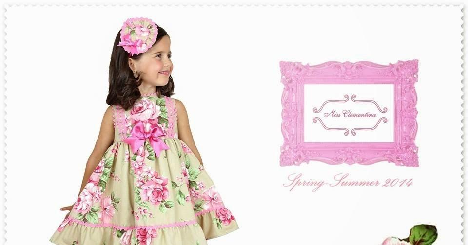 La peque a angela miss clementina colecci n mona lisa - Monalisa moda infantil ...