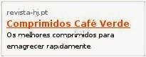 Comprimidos Cafe Verde