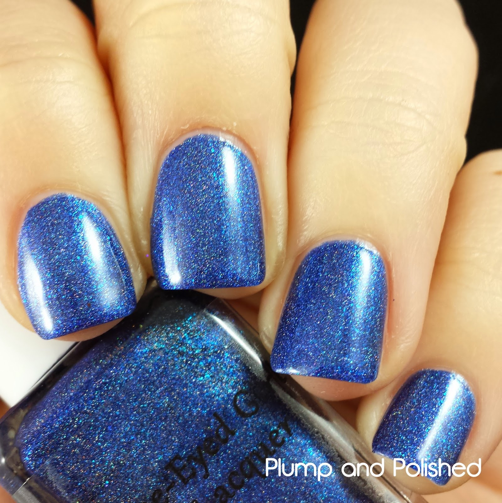 Blue-Eyed Girl Lacquer - Never Danced Like this Before
