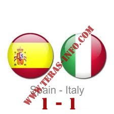 Hasil Akhir EURO Spanyol vs Italia,euro 2012, Hasil akhir pertandingan euro 2012 spanyol vs italia