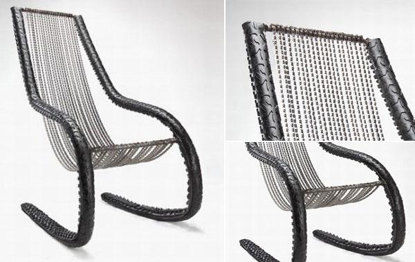 Creaciones hechas de cadenas de bici 2 for Cadenas de muebles