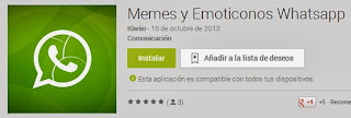 Descargar Memes y Emoticonos para Whatsapp