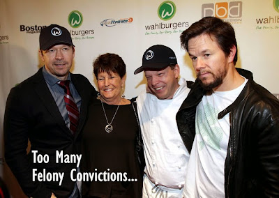 Mark Wahlberg racist felon