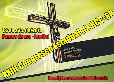 XXIII CONGRESSO DA RENOVAÇÃO CARISMATICA CATOLICA - RCC