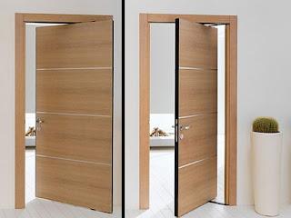Desain Pintu Rumah #1 - Pintu dua arah
