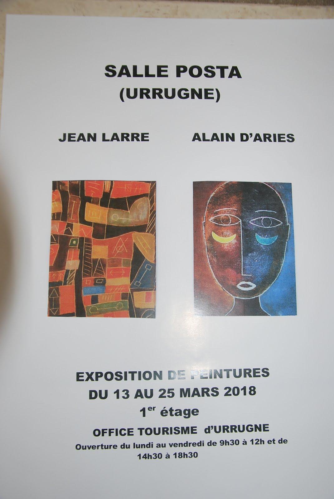 Expo Urrugne mars 2018