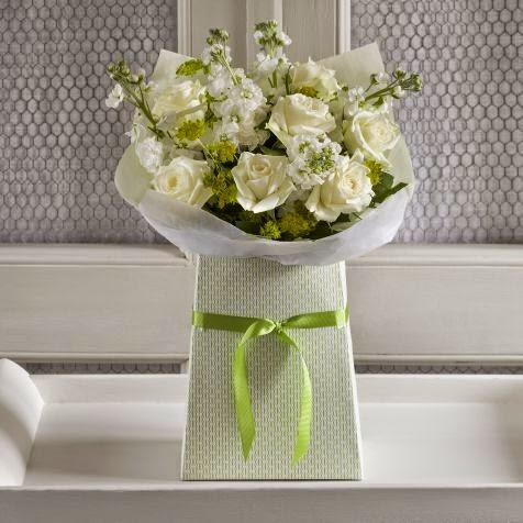 White Roses & Stocks