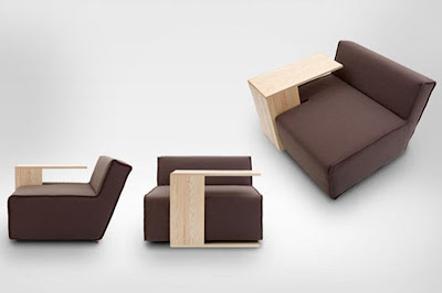 Sofa dengan Meja Portable 3