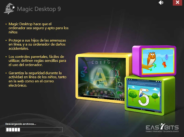 Magic Desktop-software-brinda-seguridad-para-niños