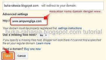 add domain name