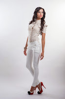 Pantaloni Pure White Fashion