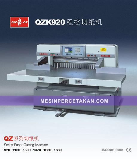 Mesin Potong Kertas Otomatis-Hidrolik