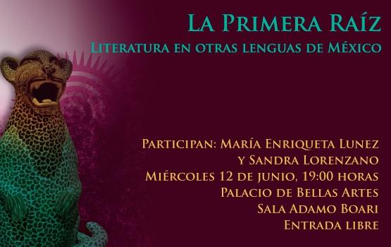 """El ciclo """"La primera raíz"""" presenta a Enriqueta Lunez en el Palacio de Bellas Artes"""