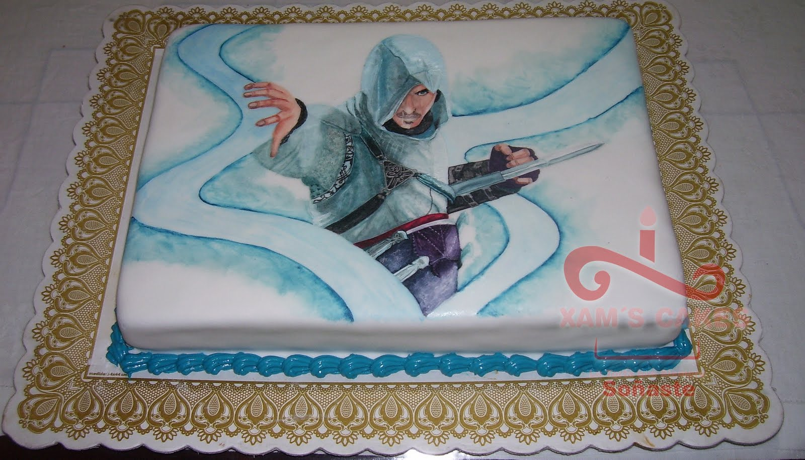 Cake Design Assassin S Creed : Pin Assassins Creed Cake Ideas And Designs Picture on ...