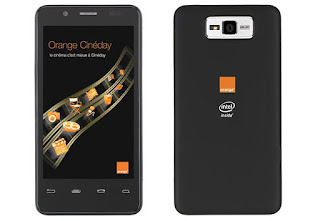 Orange Intel-Powered Phone Headed to Europe and France