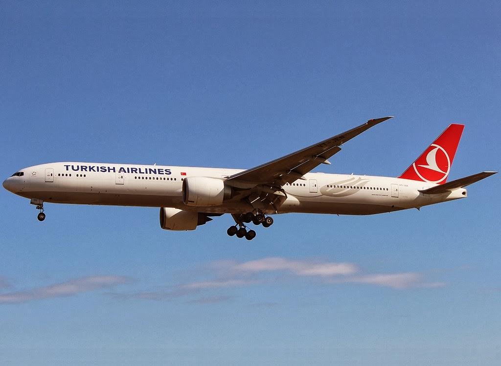 Avión de Turkish Airlines desviado por amenaza explosiva