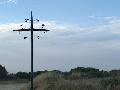 La Creu de Planells situada al Coll de Can Bruguera